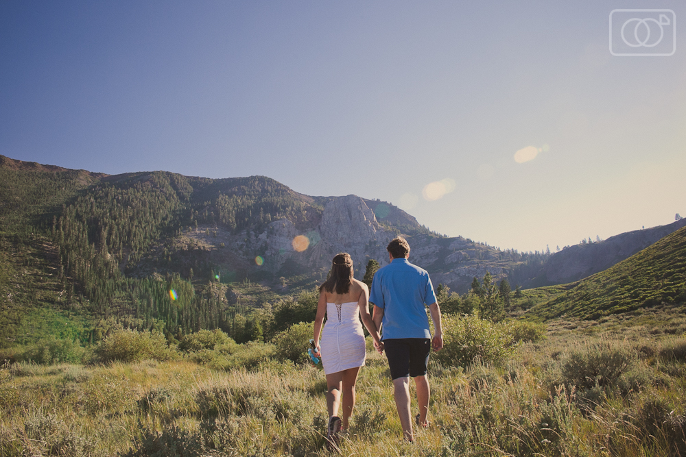 Jesse and Amy's Intimate Mammoth Lakes Wedding, CA