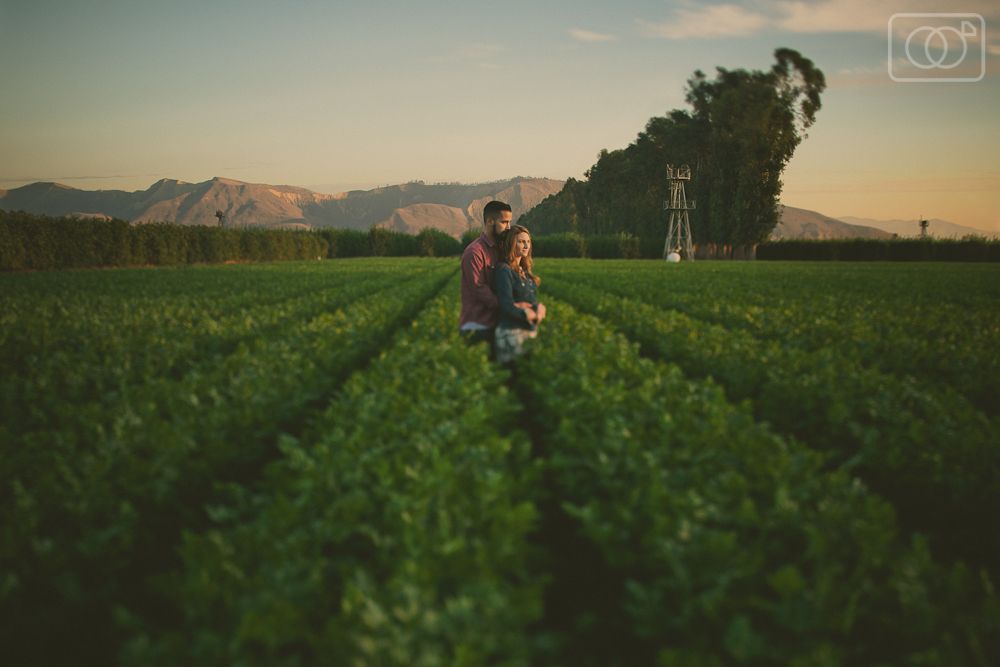 James and Lindsey: Engagement photos, Santa Paula, CA