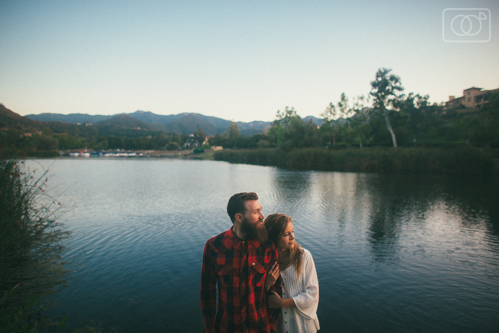 Jon and Savannah - engagement photos, Thousand Oaks, Lake Sherwood, CA