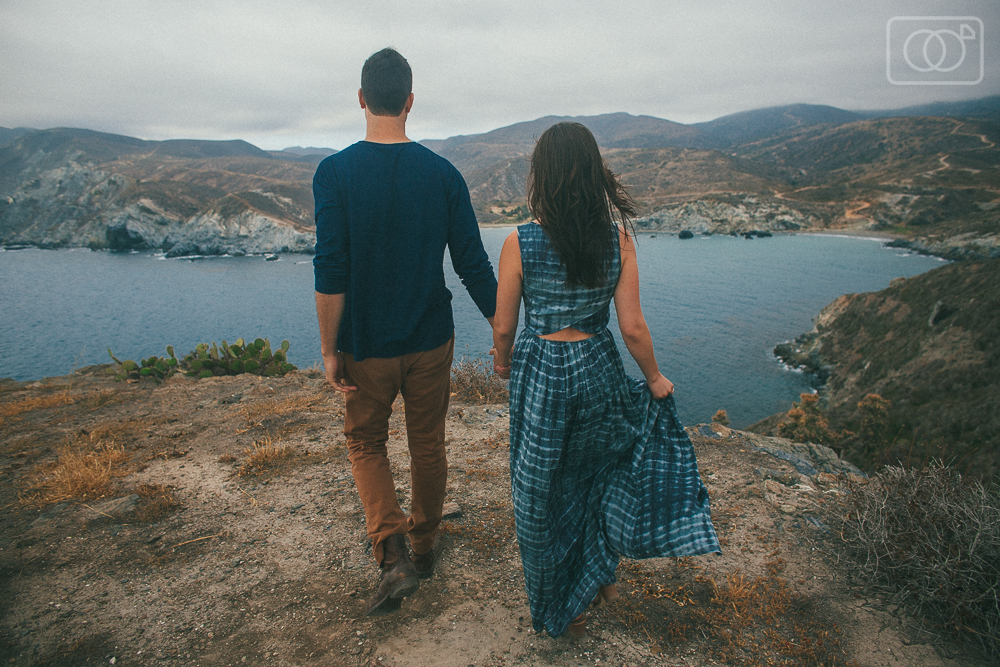 Kyle and Kelly: engagement photos, Avalon, Catalina Island, CA