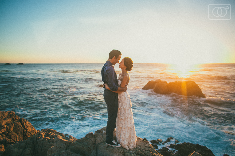 Erica and Gino - Big Sur Destination Wedding Photographer, Elopement, Carmel, California