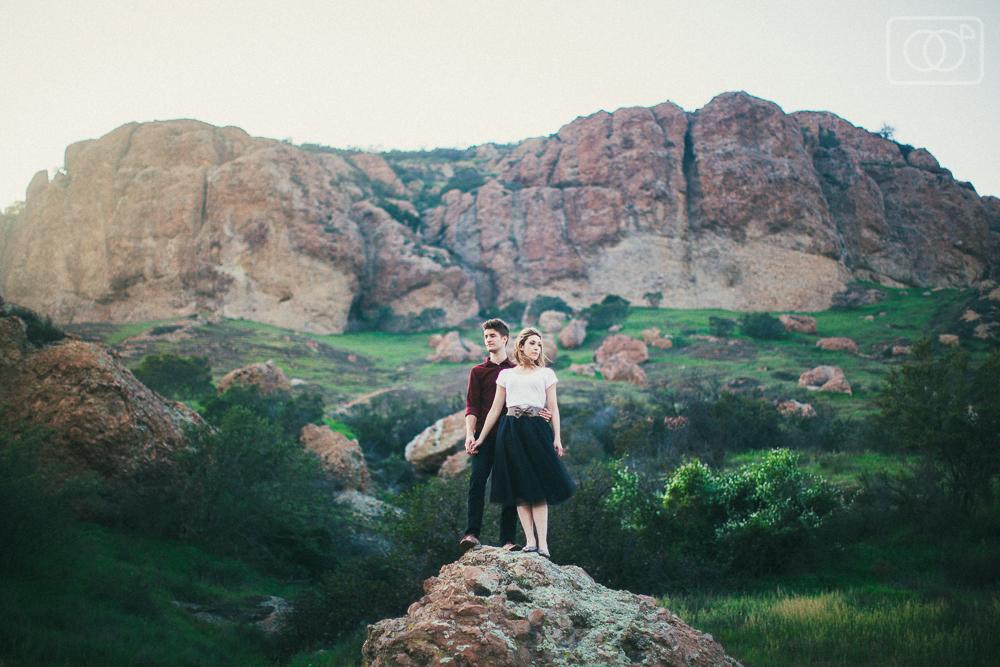 Grace and Brandon: Engagement Photos, Westlake, California