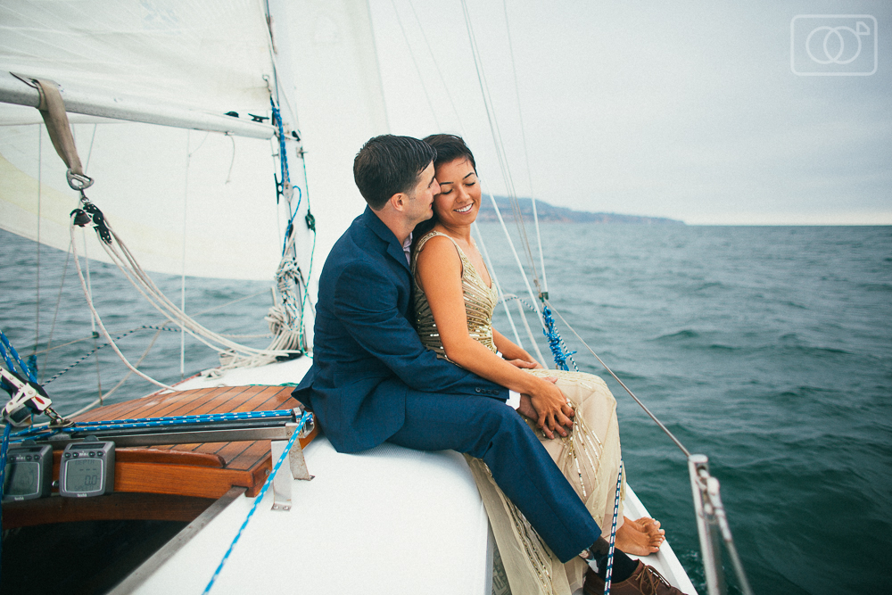 Kimi and Andy: Engagement Photos, Redondo Harbor, CA