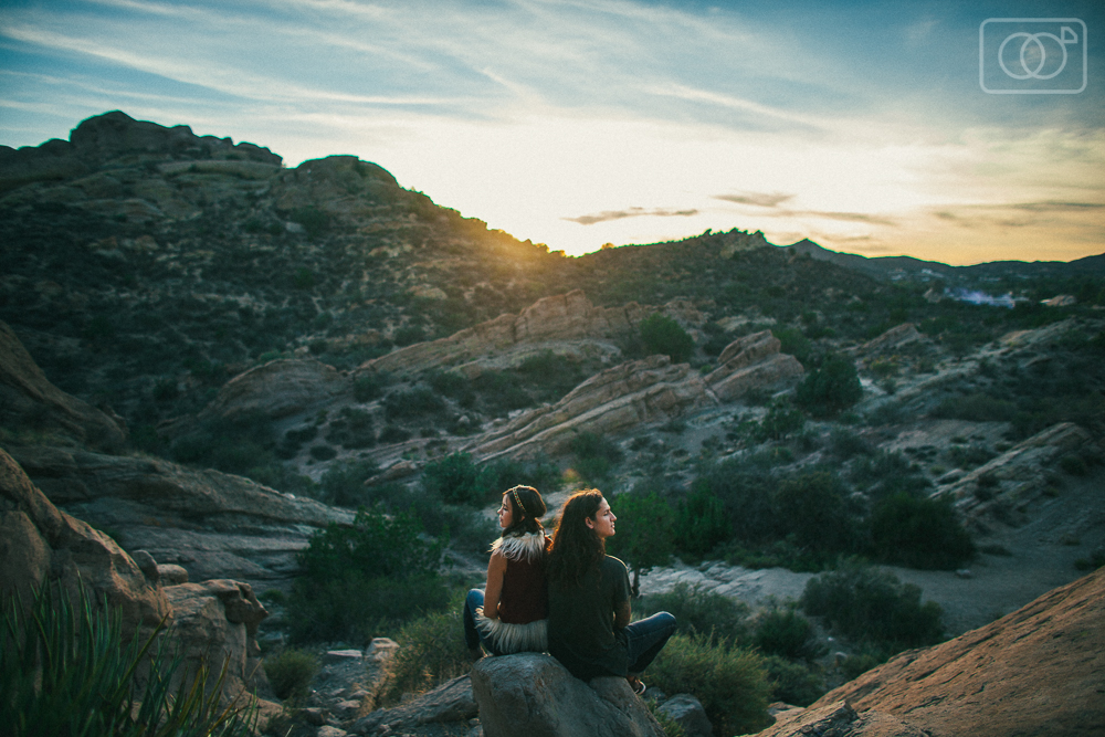 Zach and Loretta: Portraits, Vasquez Rocks