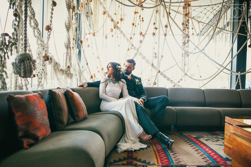Amanda and Ryan: Palm Springs Wedding Photographer, Ace Hotel and Swim Club