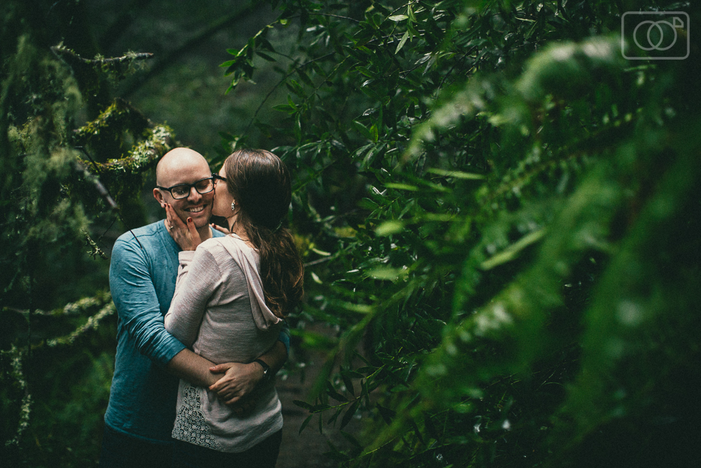 Jake and Sabrina: Engagement Photos, San Francisco, Muir Woods, Marin County, Sightglass Coffee, Rain, Destination Wedding Photographer