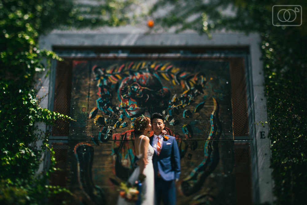 Ken and Amber: Santa Barbara Wedding Photographer, Funk Zone, Courthouse